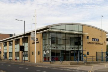 External shot of the BBC Radio Sheffield building on Shoreham Street, Sheffield